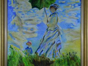 Kobieta z parasolką – Izabela Więckiewicz