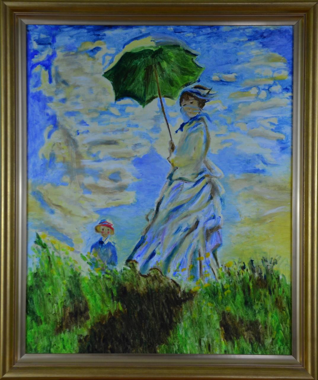 Kobieta z parasolką - Izabela Więckiewicz